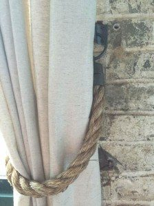 Country Curtain Tie Back