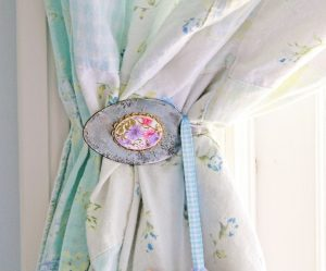 Curtain Tie Back Directions