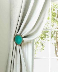 Door Knob Curtain Tie Back