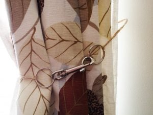 Easy Curtain Tie Back