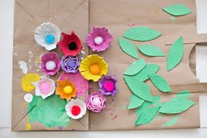 DIY Egg Carton Flowers