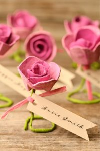 Egg Carton Roses Tutorial
