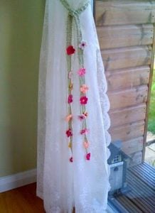 Fancy Curtain Tie Back
