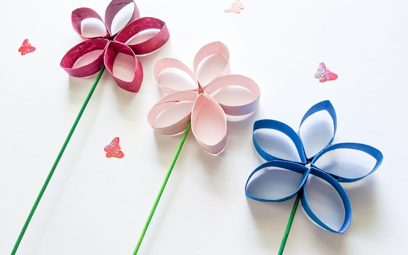14 toilet paper roll flowers craft ideas guide patterns flowers made out of toilet paper rolls mightylinksfo
