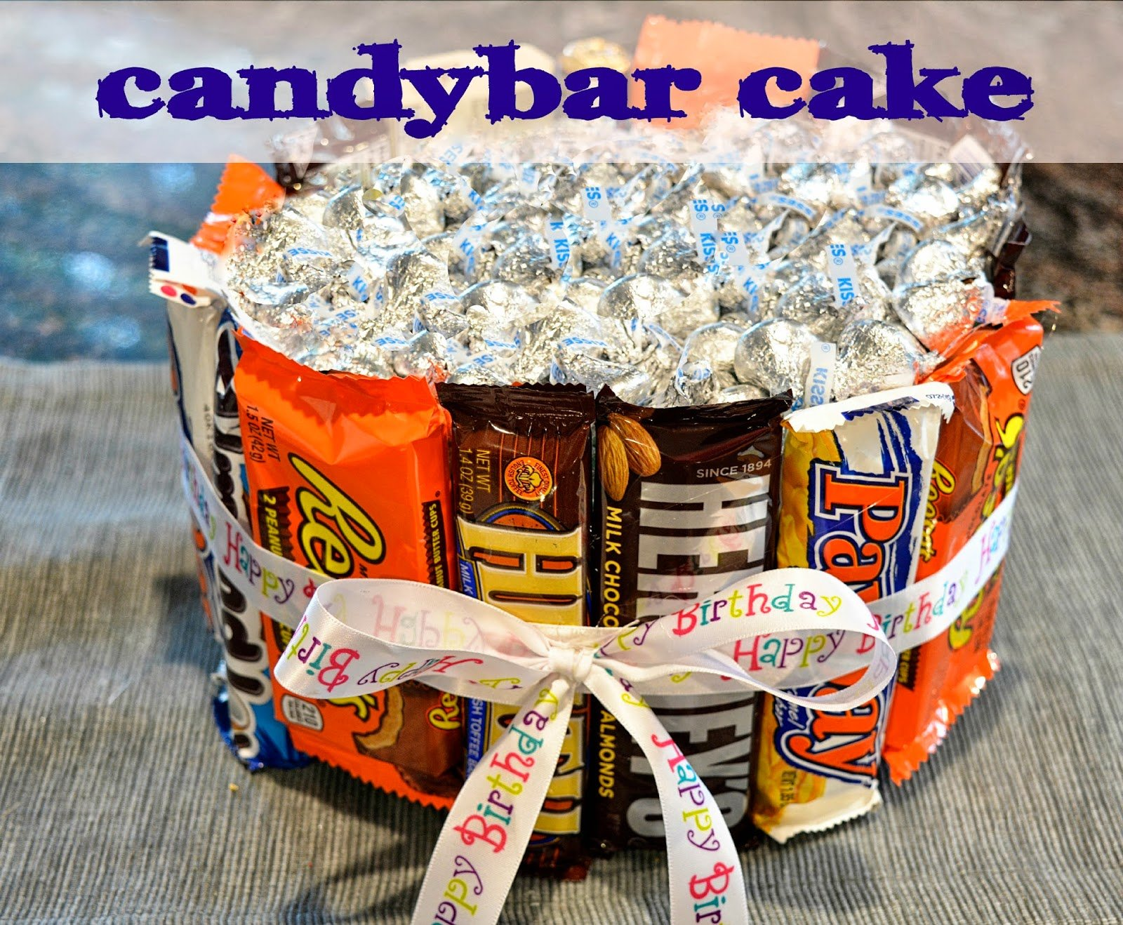 Candy Bar Cake: 15 Cool Ideas | Guide Patterns