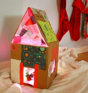How to Make a Dollhouse out of Cardboard