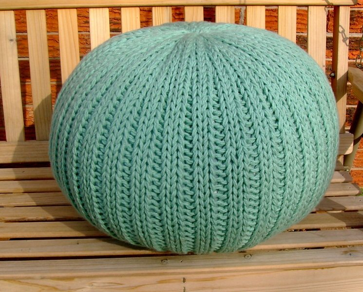 40 Knit Pouf Patterns Guide Patterns Cool Knitted Poufs Ottomans