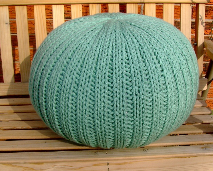 40 Knit Pouf Patterns Guide Patterns New Knitting A Pouf