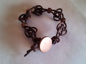 Macrame Button Bracelet