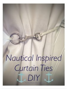 Modern Curtain Tie Back