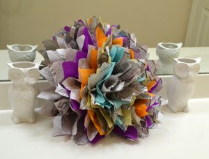 Newspaper Flower Tutorial