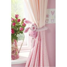 Nursery Curtain Tie Back
