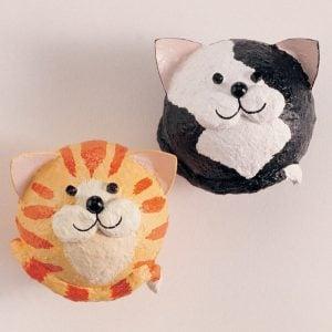 Paper Mache Balloon Cat