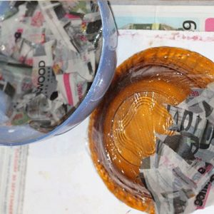 Paper Mache Bowl Step by Step