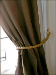 Rope Curtain Tie Back