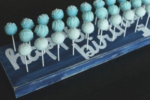 Rustic Cake Pop Stand