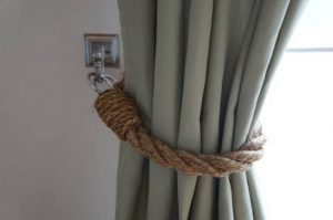 Rustic Curtain Tie Back