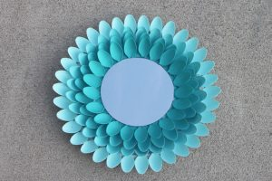 Spoon Mirror Wreath