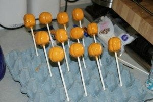 Substitute for Cake Pop Stand