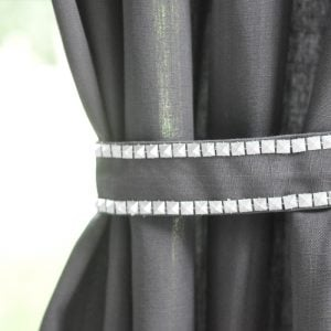 Tie Back Curtain Without Hook