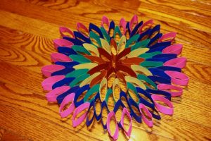 Toilet Paper Roll Flower for Kids