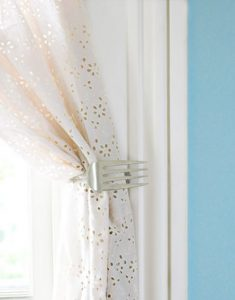 Unusual Curtain Tie Back