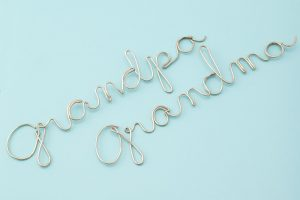 Wire Art Letters