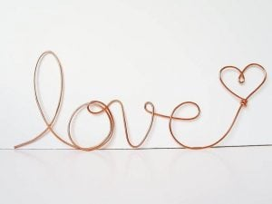 Wire Decorative Letters