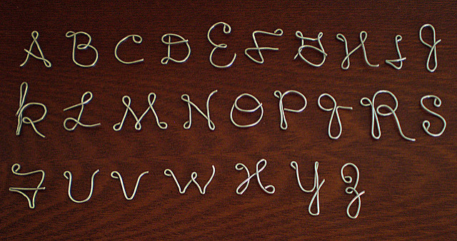 Wire-Letters-Alphabet Wire Alphabet Letter Art Template on custom wire hanger template, alphabet templates to print out, wire name template, bride wire template,