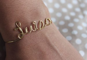 Wire Letters Jewelry