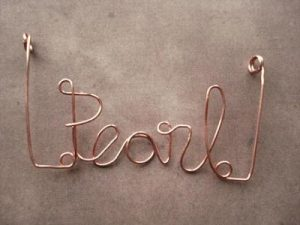 Wire Letters Tutorial