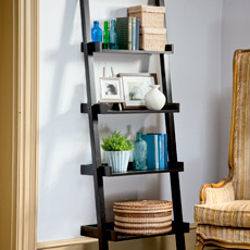 Corner Ladder Bookshelf