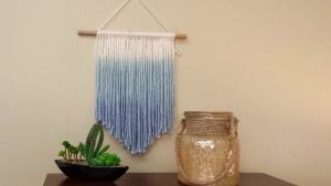 Easy Macrame Wall Hanging