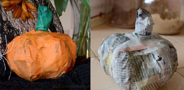32 Paper Mache Pumpkin Diy Craft Ideas Guide Patterns