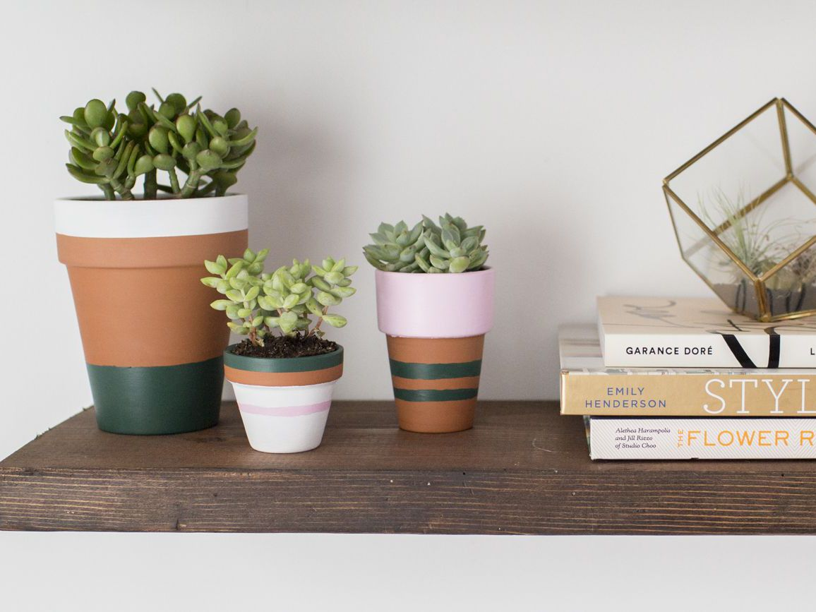 How To Paint Terracotta Pots With Acrylic Paint