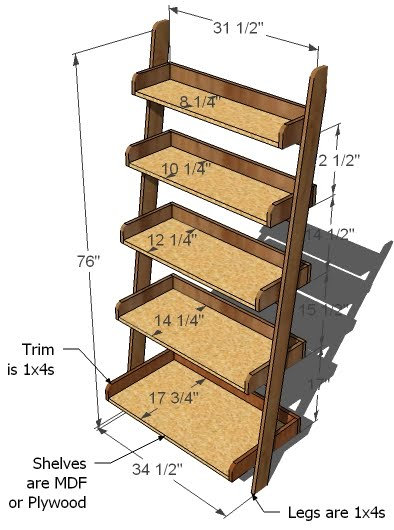 Permalink to Free Wooden Bookcase Plans