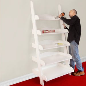 24 Ladder Bookshelf Plans Guide Patterns