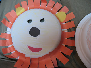 Lion Paper Plate Mask & Paper Plate Masks: 62 Creative Ideas | Guide Patterns