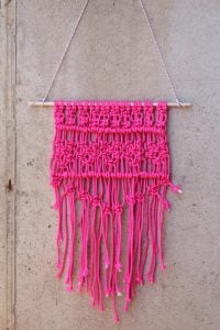 Macrame Wall Hanging Step by Step