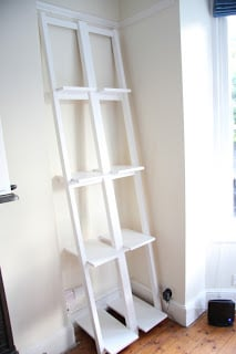 24 Ladder Bookshelf Plans
