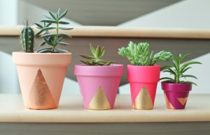 Paint Your Own Flower Pot