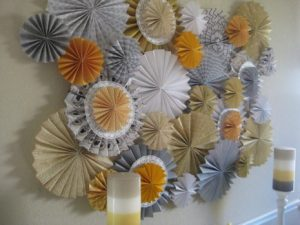 Paper Fans Decoration