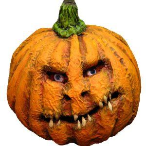 Paper Mache Halloween Pumpkin