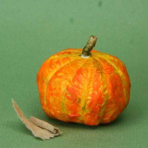 Paper Mache Mini Pumpkin