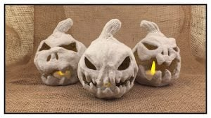 Paper Mache Pumpkin Patch