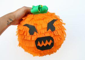 Paper Mache Pumpkin Pinata