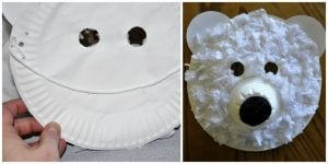 Paper Plate Face Masks