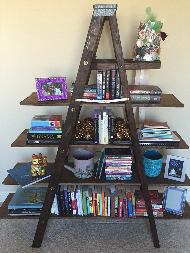 24 Ladder Bookshelf Plans | Guide Patterns