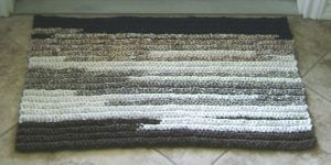 T-Shirt Yarn Rug Rectangle