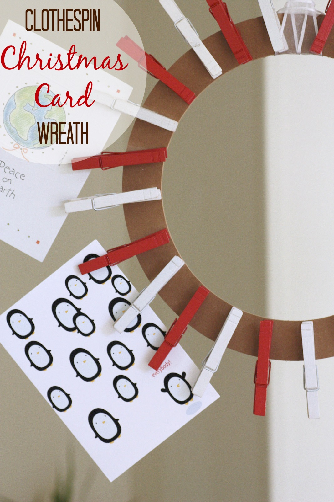 Clothespin Wreath 23 Interesting Tutorials Guide Patterns
